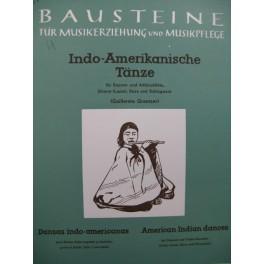 Indo-Amerikanische Tänze Flûte à bec Guitare Luth 1962