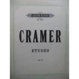 CRAMER J. B. 84 Etudes Vol 4 Piano