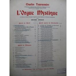TOURNEMIRE Charles L'Orgue Mystique No 1 Orgue 1929