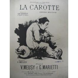 MEUSY et MARIETTI La Carotte chant 1890