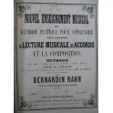 RAHN Bernardin Méthode Composition Harmonie CZERNY Etudes op 838 XIXe