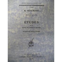 SCHUMANN Robert Etude op 10 piano