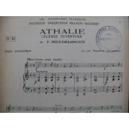 MENDELSSOHN Athalie Ouverture Orchestre 1923