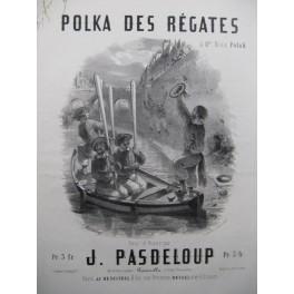 PASDELOUP Jules Polka des Régates Piano ca1853
