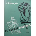 FRANÇAIX Jean Le Diable Boiteux Opéra Chant Piano 1952