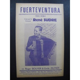 Fuerteventura Paso doble René Sudre Accordéon