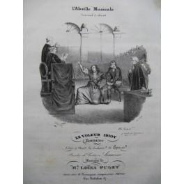 PUGET Loisa Le voleur idiot Piano Chant ca1830
