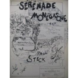 STECK Paul Sérénade Monégasque Dédicace Piano 1894