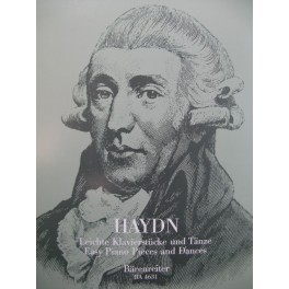HAYDN Joseph Easy Piano Pieces and Dances Piano 1996