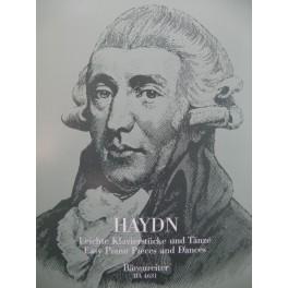 HAYDN Joseph Easy Piano Pieces and Dances Piano 1996