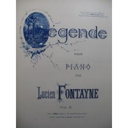 FONTAYNE Lucien Légende Piano