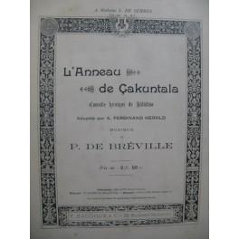 DE BRÉVILLE Pierre L'Anneau de Cakuntala Chant Piano