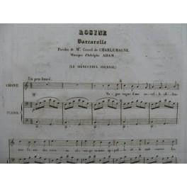 ADAM Adolphe Rosine Chant Piano 1835