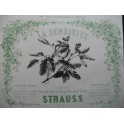 STRAUSS La Sensitive Piano ca1850