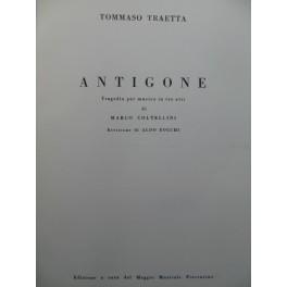TRAETTA Tommaso Antigone Opéra Chant Orchestre 1962