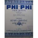 CHRISTINE Henri Phi Phi Piano 1919