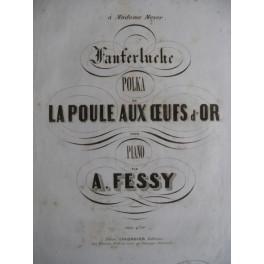 FESSY Alexandre Fanferluche polka piano ca1850