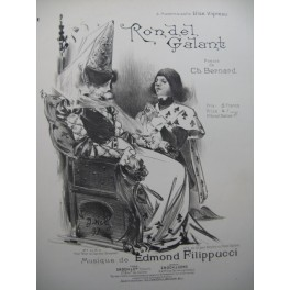 FILIPPUCCI Edmond Rondel Galant Piano Chant