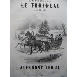 LEDUC Alphonse Le Traineau Piano 1853
