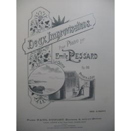 PESSARD Emile Deux Improvisations Piano