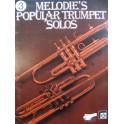 Melodie's Popular Trumpet Solos Vol 3 27 Pièces Trompette 1985