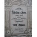 NESSLER Victor E. Der Rattenfänger von Hamelm Opéra Chant Piano XIXe