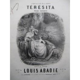 ABADIE Louis Térésita Piano XIXe siècle