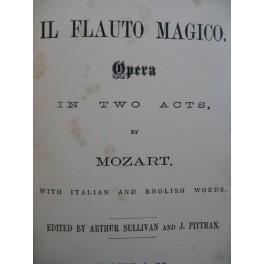 MOZART W. A. Il Flauto Magico Opéra Chant Piano