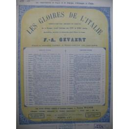 CACCINI G. MONTEVERDE C. 2 Pièces Chant Piano 1926