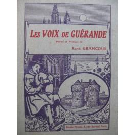 BRANCOUR René Les Voix de Guérande Chant Piano