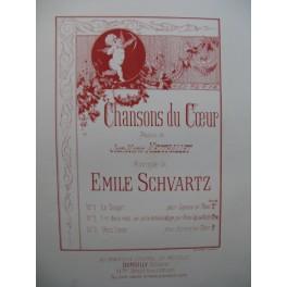 SCHVARTZ Emile Chansons du Coeur Chant Piano
