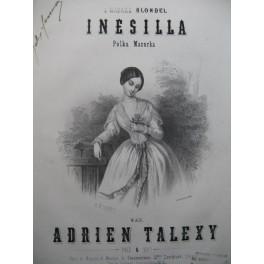 TALEXY Adrien Inesilla Piano XIXe siècle