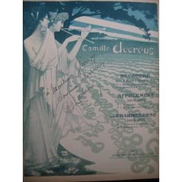 DECREUS Camille LUDANA Charmeresse Dédicace Chant Piano