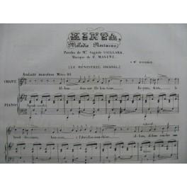 MASINI F. Kinta Chant Piano 1835