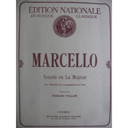MARCELLO Benedetto Sonate en La Majeur