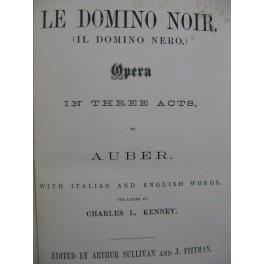 AUBER D. F. E. Il Domino Nero Opéra Chant Piano