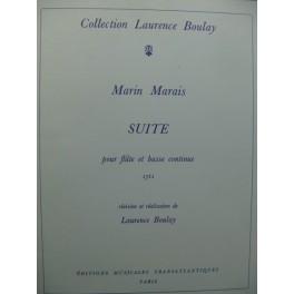 MARAIS Marin Suite Flûte Basse continue