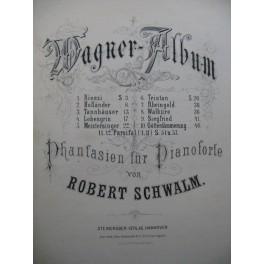 SCHWALM Robert Wagner Album 12 Pièces Piano ca1885