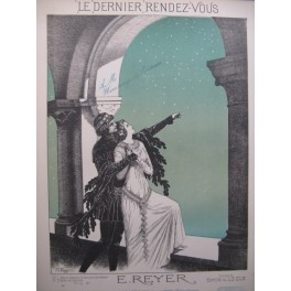 REYER E. Dernier Rendez-Vous Chant Piano 1896
