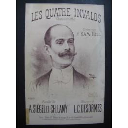 DESORMES L. C. Les Quatre Invalos Chanson