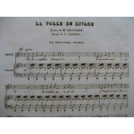 LABARRE Théodore La Folle du Rivage Piano Chant 1834