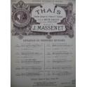 MASSENET Jules Thaïs No 10 Chant Piano 1898
