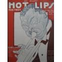 BUSSE LANGE DAVIS Hot Lips Blues Fox Trot Piano 1921