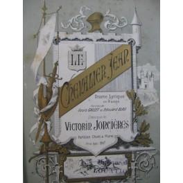 JONCIÈRES Victorin Le Chevalier Jean Opéra Chant Piano 1885