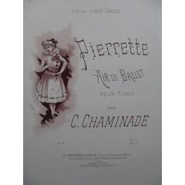 CHAMINADE Cécile Pierrette Air de Ballet Piano 1889