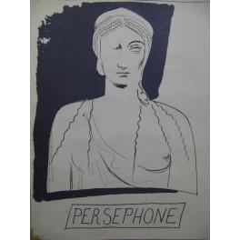 STRAWINSKY Igor Persephone Opéra Chant Piano 1947