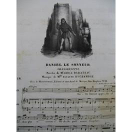 DUCHAMBGE Pauline Daniel le Sonneur Chant Piano ca1830