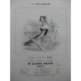 BRICE Laure La Jeune Gondolière Chant Piano 1841