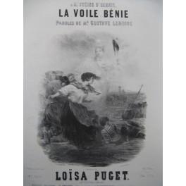 PUGET Loïsa La Voile Bénie Nanteuil Chant Piano ca1850