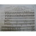GLUCK C. W. Orfeo Che faro senza Euridice Chant Orchestre ca1800